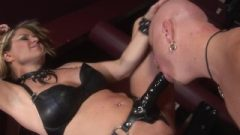FemDom Whips And Controls Until Anal Cream Pie