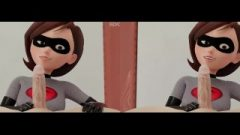 Helen Parr 3D Dickplay And Anal Cream Pie (POV)