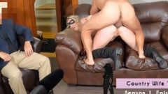 Smashed While Husband Watches Hotwife Gets Anal Cream Pie Daddyscowgirl