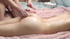 Massage Turned Into Fisting, Squirting And Ended Up With Anal Cream Pie
