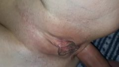 Deep And Painful Anal With Cream Pie